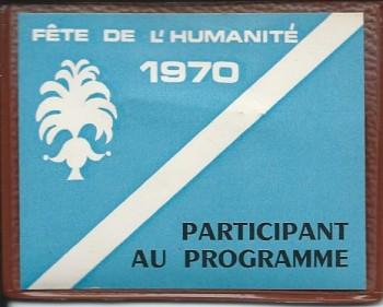 1970 L'Humanité