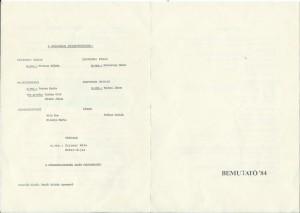 1984 Bemutató meghívó