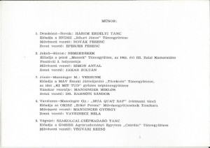 Táncantológia műsor (1)